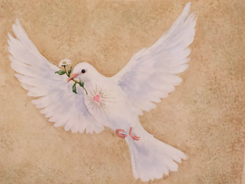 Peace I leave with you, my Peace I give unto you